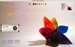 origami flower by KOTPA