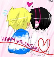 Happy Valentines by frickle-frackle