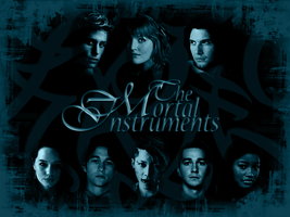 Mortal Instruments BLUE by ReachForTheStarfish