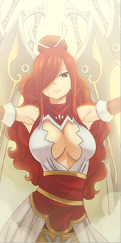 Erza - Fairy Tail by FairyTailFan100