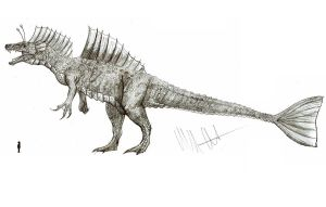 Toho monster revised: Titanosaurus by Teratophoneus