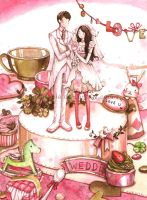 Sweet Wedding by peatopia