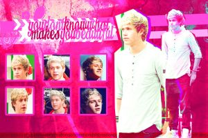 Niall  Horan  Wallpaper-Blend by JoDirectioner