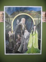 Lord of the Rings by Fiannalyn
