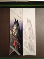 Sephiroth KH Bookmark by SyncTempest27
