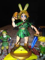ZMM Link Statue of clay by Kumaxter