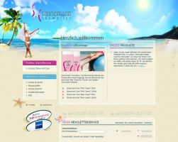 Beauty Product Webdesign by medienvirus