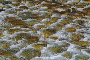 Cobblestone river by asiaseen