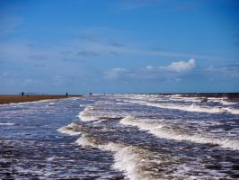 Talacre Beach by celtes