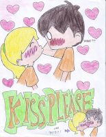 Percabeth: Kiss Please by bratitude123