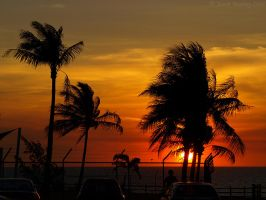 Tropical Sunset 02 by jmotbey