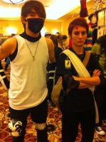 Griffin/ANBU with Gaara(LouisiANIME 2013) by Hound-02