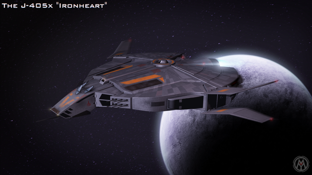 The J-405x Ironheart by MikomDude