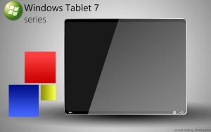 Windows Tablet 7 series by RVanhauwere