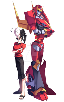RQ: Roddy and Charlotte by LillinApocalypse