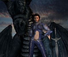 Dragonlance - Kitiara by 7Sins7