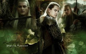 Legolas - Hobbit Wallpaper by Elflover21