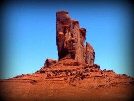 Monument Valley 1 by spidermonkeykiss