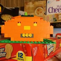 Lego Jack o'lantern by pieclown