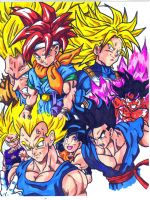 dbz and chrono trigger by trunks24