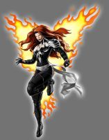 White Lantern Jean Grey by Lord-Lycan