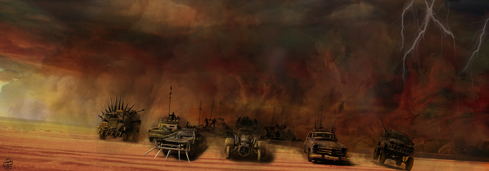 Fury Road by leseraphin