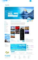 """SkyTouch """"Travel Company"""" by Mar0logy"""