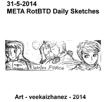 META RotBTD 2014 Daily Sketch 5-31 by veekaizhanez
