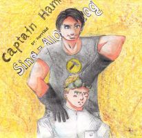 Dr. Horrible and Captain Hammer by Avato-chan