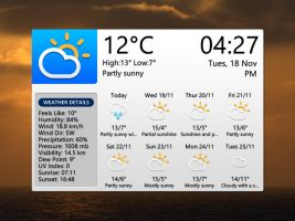 White Tab Widget for xwidget by jimking