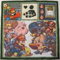Video Game Xstitch by coincollect408