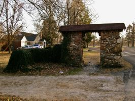 Stone Archway by Baq-Stock