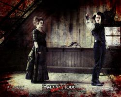 Sweeney Todd Wallpaper by julius666