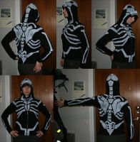 Tysheas skeleton hoodie design by ihni
