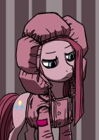 Pinkamena with a cute jacket by dannylim86