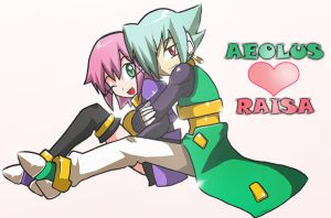 Request: Aeolus and Raisa by Shoutaro-Saito