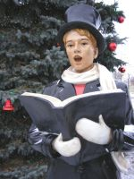Snow Caroler Man 1 by OsorrisStock