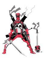 Deadpool war ready. by future-parker
