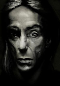 Iggy Pop by AnayaBladewind