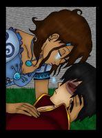Zutara Tangled colored by Fallonkyra