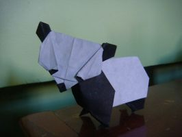 Origami Giant Panda by silent-anton123