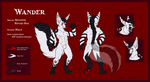 Wander Reference Sheet - Commission by Wyn-de-Weynilard