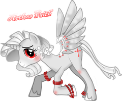 Artless Faith MLP:FiM OC by Majikaru-Rin