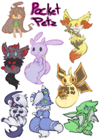Pocket pets by kitzune-griffith