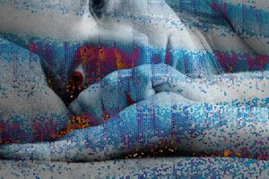 depressed mosaic by visual-synthesis