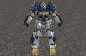 Rx-78-6 Mudrock Gundam XPS ONLY!!! by lezisell