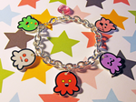 Octopi Charm Bracelet by egyptianruin