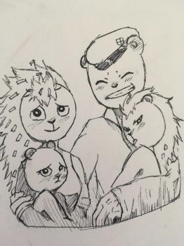 FxF family by thelittledefectbot