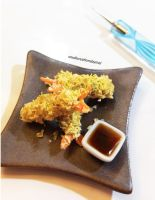 Shrimp Tempura by SmallCreationsByMel