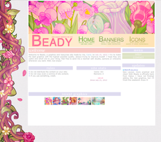 Beady - CSS Layout (March/2013) by sweetonic